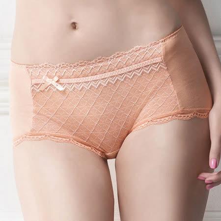 【華歌爾】極塑Double Shape系列M-LL中低腰平口褲(蜜粉橘)