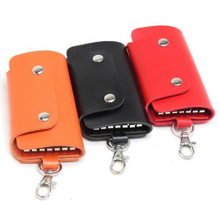【MOROM】真皮自然簡約鑰匙包(共三色)