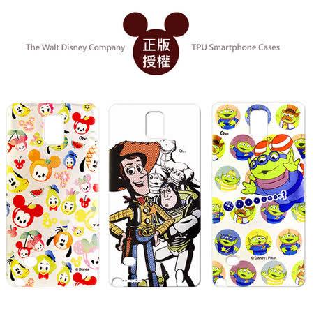 迪士尼授權正版 Disney 三星 Samsung Galaxy Note 4 透明彩繪軟式保護殼 手機殼(玩具總動員/Q版米奇款)
