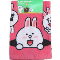 【波克貓哈日網】TOKYO LINE FRIENDS◇2枚入長巾◇《 34x75 cm 》兔兔