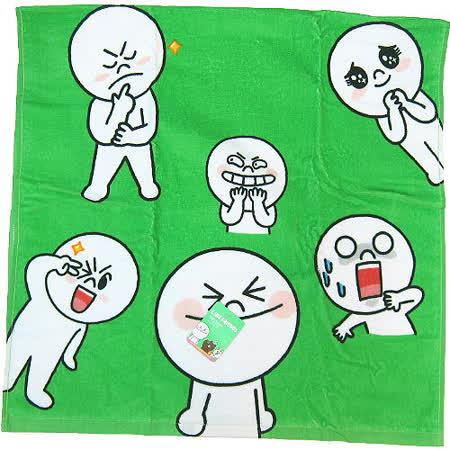 【波克貓哈日網】TOKYO LINE FRIENDS◇浴巾海灘巾◇《 60x120 cm 》饅頭人
