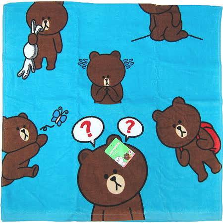 【波克貓哈日網】TOKYO LINE FRIENDS◇浴巾海灘巾◇《 60x120 cm 》熊大