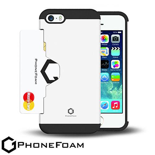 PhoneFoam Golf Fit iPhone 55S 插卡式吸震保護殼
