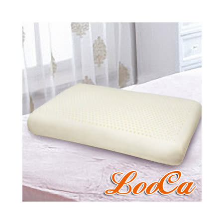 【LooCa】加強護頸基本型乳膠枕(1入)