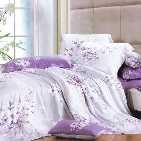 Lily Royal  愛如潮水 加大六件式天絲兩用被床罩組