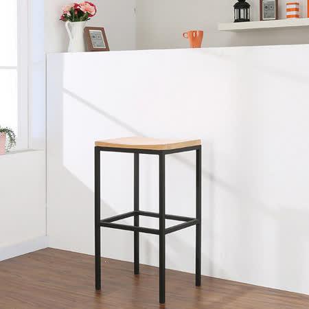 《BuyJM》巴斯達實木吧台椅/高腳椅