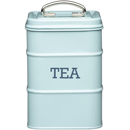 《KitchenCraft》復古茶葉收納罐(藍)