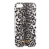 COACH黑白豹紋圖繪漆字iPhone5手機保護殼