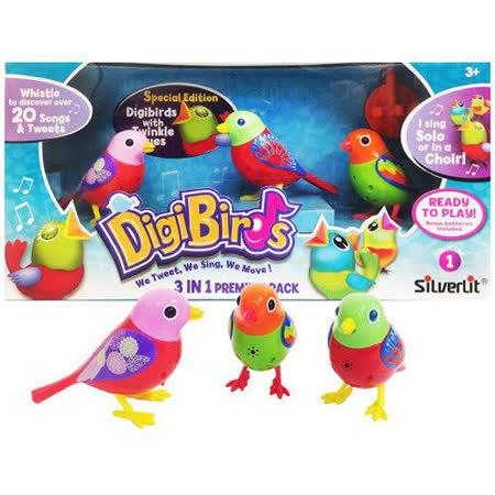 《 Silverlit 》Digi Birds 知音鳥第二代知音鳥3入組 (隨機出貨)