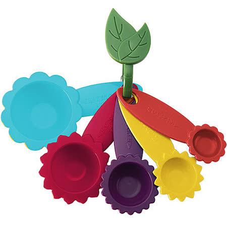 《KitchenCraft》花型五色量匙組