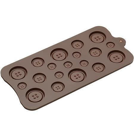 《Sweetly》巧克力烤盤(鈕扣)