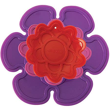 《KitchenCraft》紫紅花隔熱墊3件