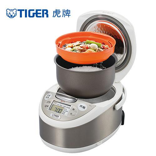 (TIGER虎牌 日本製)6人份tacook微電腦炊飯電子鍋(JAX-T10R)買就送專用食譜