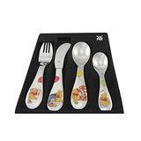 WMF 3歲以上兒童學習專用餐具四件組維尼熊版