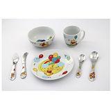 WMF 3歲以上兒童學習專用餐具七件組維尼熊版