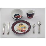 WMF 3歲以上兒童學習專用餐具七件組閃電麥坤版