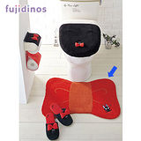 【cecile雜貨】魔女宅急便黑貓造型浴廁用地墊