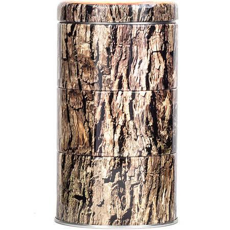 《KIKKERLAND》不是樹幹三層收納錫罐