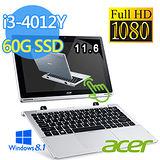 Acer 宏碁 Switch 11 SW5 i3-4012Y 11吋FHD 2合1 觸控平板筆電(SW5-171-30KN)【內附Office365個人版】