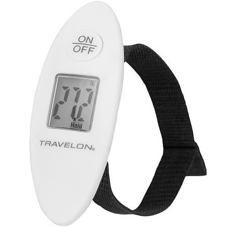《TRAVELON》掌心數位行李秤(白40kg)