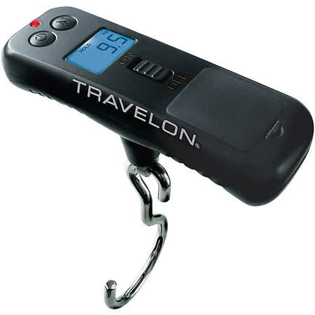 《TRAVELON》節能掌心數位行李秤(50kg)