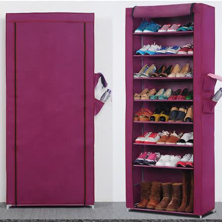 超大加高九層簡易防塵鞋櫃