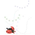 紅色瓢蟲鈴鐺(買一送一)
