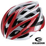 Exustar 26孔自行車專用安全帽 (紅)
