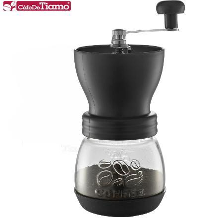 Tiamo 0925密封罐陶瓷磨豆機(黑色) HG6149BK