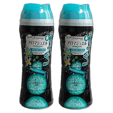 P&G洗衣芳香顆粒375g-藍色(翡翠微風香)-二入組