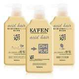 【任選2入】KAFEN acid hair 亞希朵 酸性蛋白洗髮精 300ml