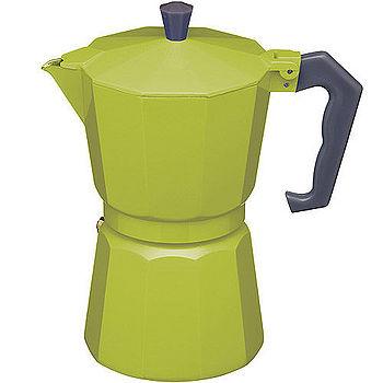 《KitchenCraft》義式摩卡壺(綠6杯)
