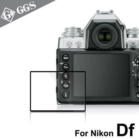 GGS第四代LARMOR金鋼防爆玻璃靜電吸附相機保護貼-NIKON Df專用