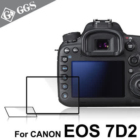 GGS第四代LARMOR金鋼防爆玻璃靜電吸附相機保護貼-CANON 7D2專用