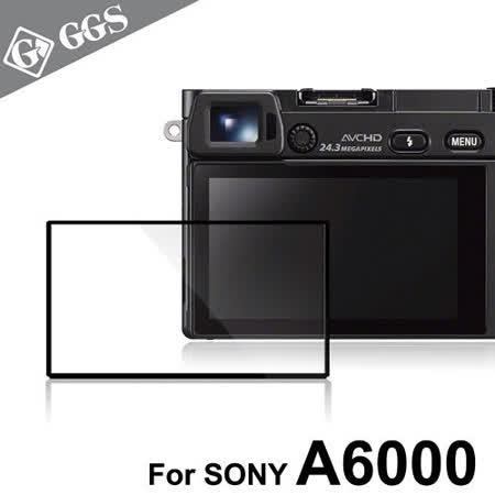 GGS第四代LARMOR金鋼防爆玻璃靜電吸附相機保護貼-SONY A6000專用