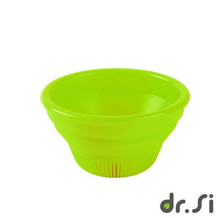 【Dr.Si】寶寶適用矽膠摺疊碗(綠)