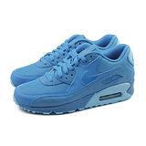 (女)NIKE WMNS AIR MAX 90 PRM 休閒鞋 藍-443817401