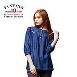 【FANTINO】氣質首選.牛仔洋裝 (丈青) 484301