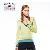 【FANTINO】冬天必備保暖毛衣 (芥末綠) 487101