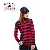 【FANTINO】女款修身線條拉鍊式洋裝 (桃紅) 487201
