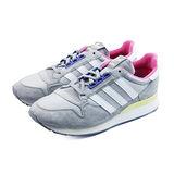 (女)ADIDAS ZX 500 OG W 休閒鞋 灰/桃紅/粉黃-M19354