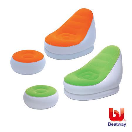 《購犀利》Bestway。75X38X25時尚單人充氣沙發