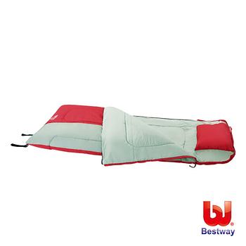 《購犀利》Bestway。81x35多功能附枕睡袋