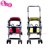 EMC可推式幼兒機車椅(紅/黃)《台灣製造》