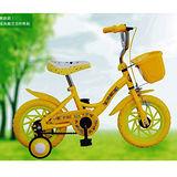 EMC 12吋小飛俠腳踏車+前籃(水藍色/淡綠/黃色)