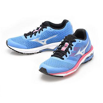 美津濃MIZUNO(女)WAVE UNITUS SW慢跑鞋-藍-J1GF152102
