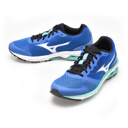 美津濃MIZUNO(男)WAVE UNITUS DC SW慢跑鞋-藍-J1GE152301
