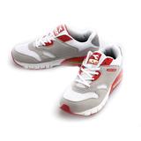DIADORA(男)時尚氣墊運動鞋-白紅-DA4AMC9862