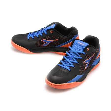 DIADORA(男)高筒運動鞋-黑藍桔-DA4AMB9360