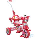 【MIT台灣童車】可愛貓咪折疊三輪車 ( 粉 / 藍 )
